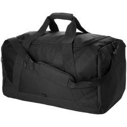 Geanta de umar de voiaj, Everestus, CA, 600D poliester si 300D poliester, negru, saculet de calatorie si eticheta bagaj incluse