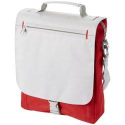 Geanta de conferinte, curele ajustabile, Everestus, PA, 600D poliester/300D poliester, rosu, saculet si eticheta bagaj incluse