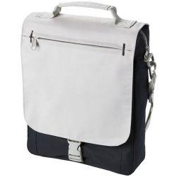 Geanta de conferinte, curele ajustabile, Everestus, PA, 600D poliester si 300D poliester, gri, saculet si eticheta bagaj incluse