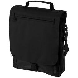 Geanta de conferinte, curele ajustabile, Everestus, PA, 600D poliester/300D poliester, negru, saculet si eticheta bagaj incluse