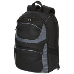 Rucsac Laptop, Everestus, CL, 15.4 inch, 600D poliester, negru, saculet de calatorie si eticheta bagaj incluse