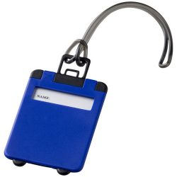 Taggy luggage tag, ABS plastic, Blue