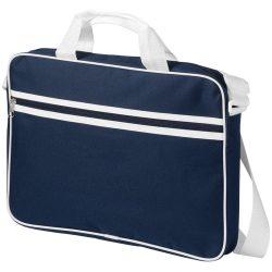 Geanta de conferinte si Laptop, Everestus, KE, 15.6 inch, 600D poliester, albastru, saculet si eticheta bagaj incluse