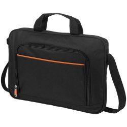 Geanta de conferinte si Laptop, Everestus, HM, 14 inch, 600D poliester, negru, portocaliu