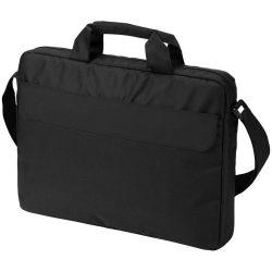 Geanta de conferinte si Laptop, Everestus, OA, 15.6 inch, 300D poliester, negru, saculet de calatorie si eticheta bagaj incluse