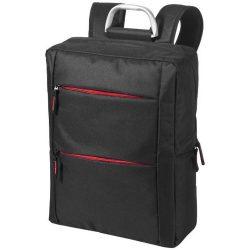 Rucsac Laptop, Everestus, BN, 15.6 inch, 600D poliester, negru, rosu, saculet de calatorie si eticheta bagaj incluse