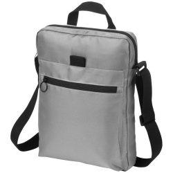 Geanta de Postas/Tableta, Everestus, YE, 10 inch, 900D poliester, gri, saculet de calatorie si eticheta bagaj incluse