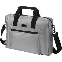 Geanta de conferinte si Laptop, Everestus, YE, 15.6 inch, 900D poliester, gri, saculet de calatorie si eticheta bagaj incluse