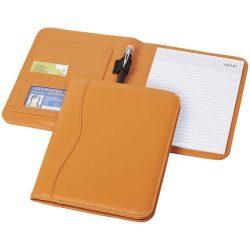 Ebony A5 portfolio, Imitation leather, Orange