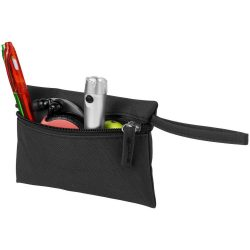 Cordoba valuables storage pouch, 600D polyester, solid black
