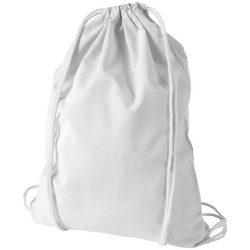Saculet din bumbac, inchidere cu snur, Everestus, 8IA19068, alb