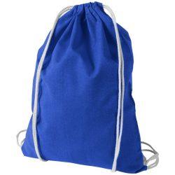 Saculet din bumbac, inchidere cu snur, Everestus, 8IA19066, albastru royal