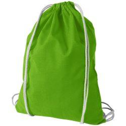Saculet din bumbac, inchidere cu snur, Everestus, 8IA19061, verde lime