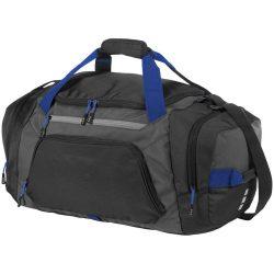 Geanta de umar sport, Everestus, MN, 600D poliester, 600D ripstop, negru, gri, saculet de calatorie si eticheta bagaj incluse