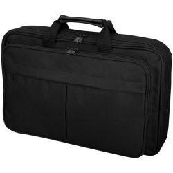 Rucsac Laptop, Everestus, WA, 15.4 inch, 600D poliester, negru, saculet de calatorie si eticheta bagaj incluse