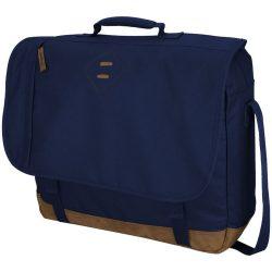 Geanta de Postas/Laptop, Everestus, CR, 17 inch, 600D poliester, albastru, saculet de calatorie si eticheta bagaj incluse