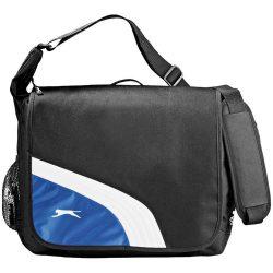 Geanta de umar pentru Laptop, 17 inch, Everestus, WY, 600D poliester, negru, albastru