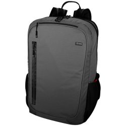 Rucsac Laptop, Elleven by AleXer, LR, 15.6 inch, pu ripstop waterproof, tarpaulin, gri, breloc inclus din piele ecologica