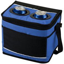Polluck 12-can cooler bag, 600D Polyester, Royal blue, solid black
