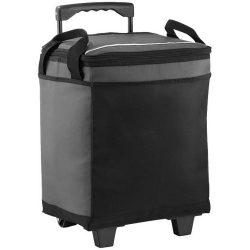 Troler frigorific 32 doze pentru evenimente outdoor, Everestus, RR, 600D poliester, gri, negru