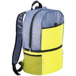 Sea-isle insulated cooler backpack, 210D Polyester, Lime