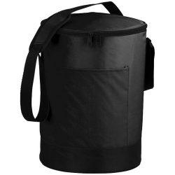 Bucco barrel cooler bag, 70D Nylon, solid black