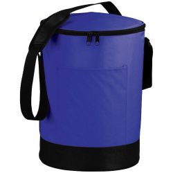 Bucco barrel cooler bag, 70D Nylon, Royal blue
