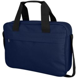 Geanta documente cu bretea ajustabila, Everestus, RA01, poliester 600D, albastru inchis, saculet si eticheta bagaj incluse