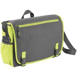 Geanta de Postas/Laptop, Everestus, PH, 15.6 inch, 600D poliester, gri, verde