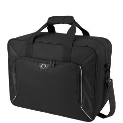 Geanta de umar, Everestus, SH, 600D poliester, negru, saculet de calatorie si eticheta bagaj incluse