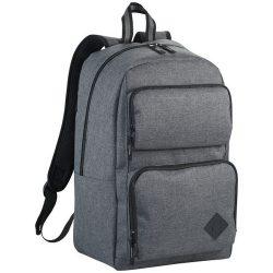 Rucsac Laptop deluxe, Everestus, GE, 15.6 inch, 600D poliester, gri, saculet de calatorie si eticheta bagaj incluse