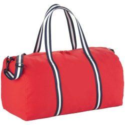 Geanta de umar de voiaj, Everestus, WR, panza 407 g/m² bumbac, rosu, saculet de calatorie si eticheta bagaj incluse