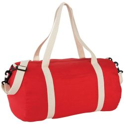 Geanta de umar, Everestus, CE, panza 170 g/m² bumbac, rosu, saculet de calatorie si eticheta bagaj incluse