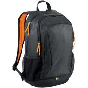 Rucsac Laptop si Tableta, Case Logic by AleXer, IA, 15.6 inch, poliester, negru, portocaliu