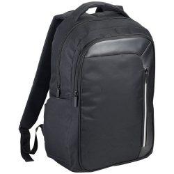 Rucsac Laptop RFID, Everestus, VT, 15.6 inch, 600D poliester cu PU accente de vinyl, negru, saculet si eticheta bagaj incluse