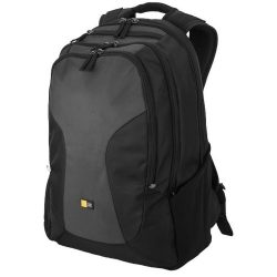Rucsac Laptop si Tableta, Case Logic by AleXer, 15.6 inch, poliester, negru, gri