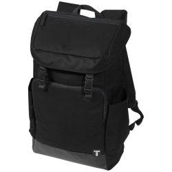 Rucsac Laptop, Everestus, RO, 15.6 inch, 300D poliester cu tarpaulin, negru, saculet de calatorie si eticheta bagaj incluse