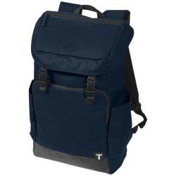 Rucsac Laptop, Everestus, RO, 15.6 inch, 300D poliester cu tarpaulin, albastru, saculet de calatorie si eticheta bagaj incluse