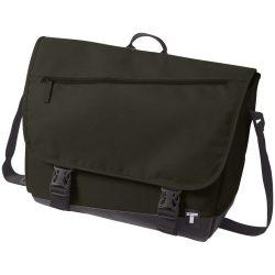 Geanta de Postas, Everestus, CR, 15 inch, 300D poliester cu tarpaulin, masliniu, saculet de calatorie si eticheta bagaj incluse