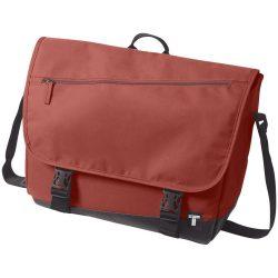 Geanta de Postas, Everestus, CR, 15 inch, 300D poliester cu tarpaulin, rosu, saculet de calatorie si eticheta bagaj incluse