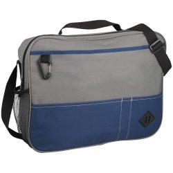 Servieta pentru conferinte, Everestus, HN, 600D poliester, albastru, saculet de calatorie si eticheta bagaj incluse