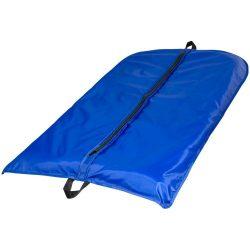 Husa de costum pliabila din poliester 190T, fermoar frontal, Everestus, FL01, albastru royal, saculet si eticheta bagaj incluse