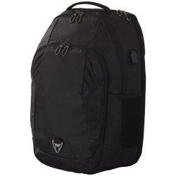 Rucsac Laptop pentru calatorii cu avionul, Everestus, 15 inch, nylon si pvc, negru