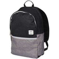 Rucsac Laptop, Everestus, OR, 15 inch, 600D Polycanvas, gri, negru, saculet de calatorie si eticheta bagaj incluse