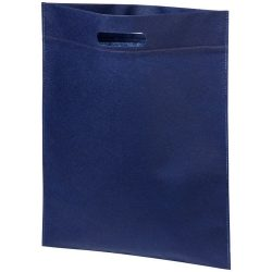 Large freedom convention tote bag, 80g Non-woven polypropylene, Navy