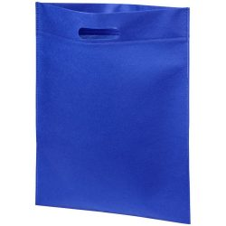 Large freedom convention tote bag, 80g Non-woven polypropylene, Royal blue