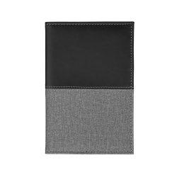 Husa pentru pasaport, Everestus, HD, thermo pu, negru, 155x10x100 mm, lupa de citit inclusa