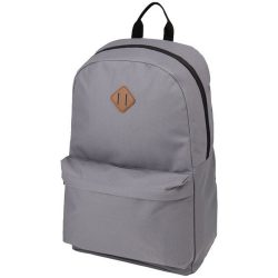 Rucsac computer, Everestus, SA, 15 inch, gri, saculet de calatorie si eticheta bagaj incluse