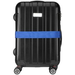 Saul suitcase strap, PP strap with PP buckle, Blue