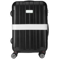 Saul suitcase strap, PP strap with PP buckle, White